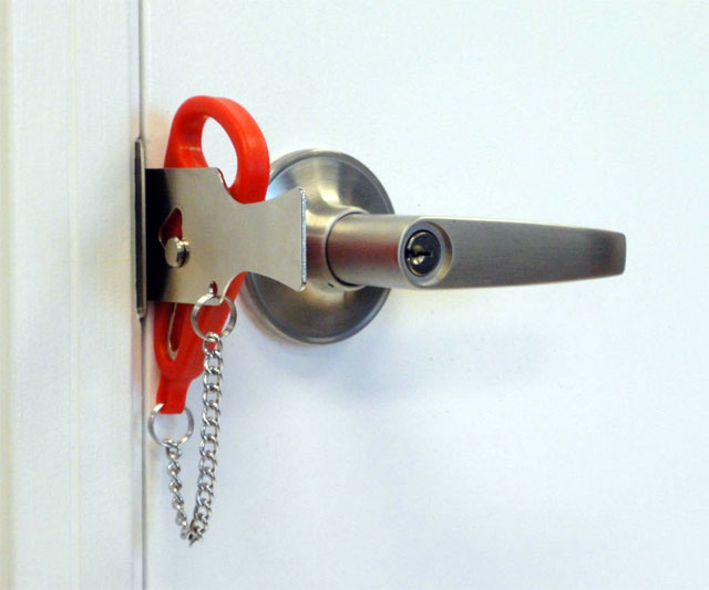 Add-a-lock Portable Door Lock: Secure Your Door When You Want Privacy