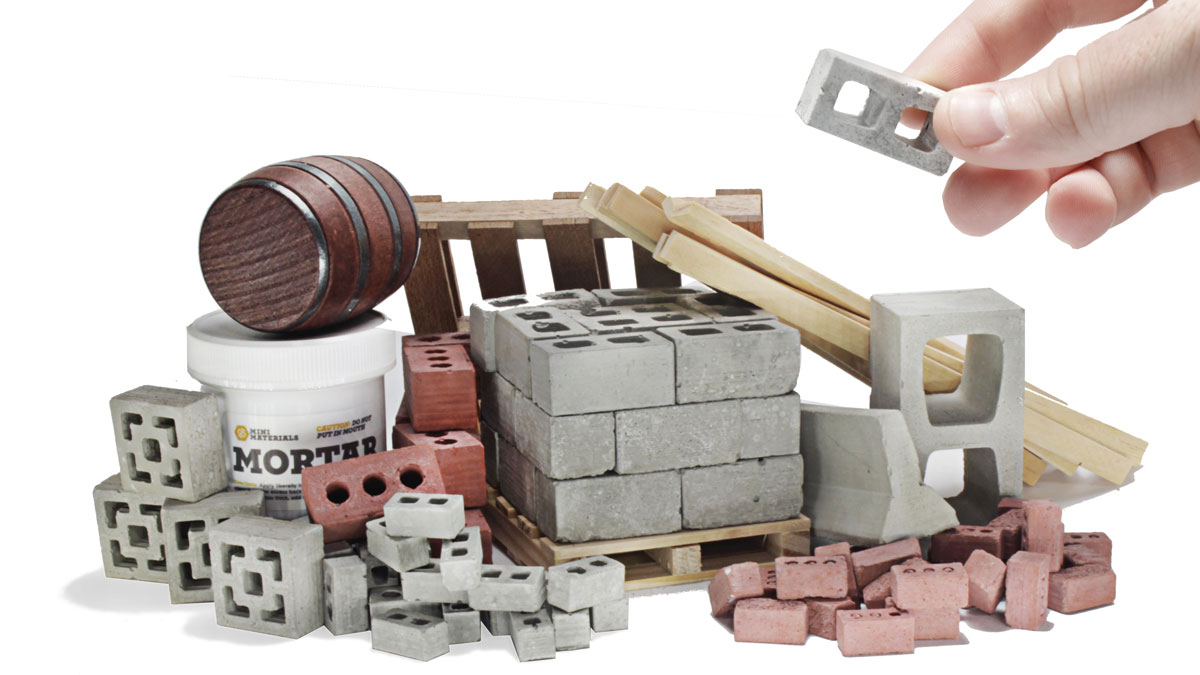 Mini Building Materials Ultimate Sample Kit