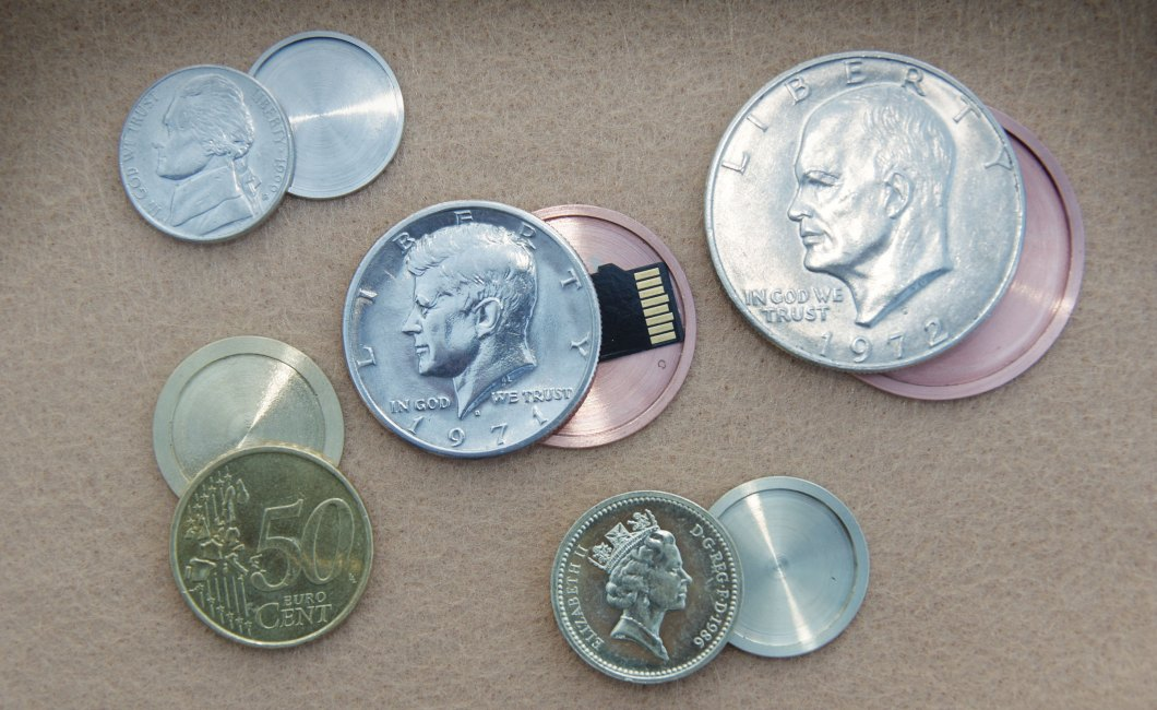 U.S. Mint Nickel Spy Coin: Actual Coins Devised for Covert Carry