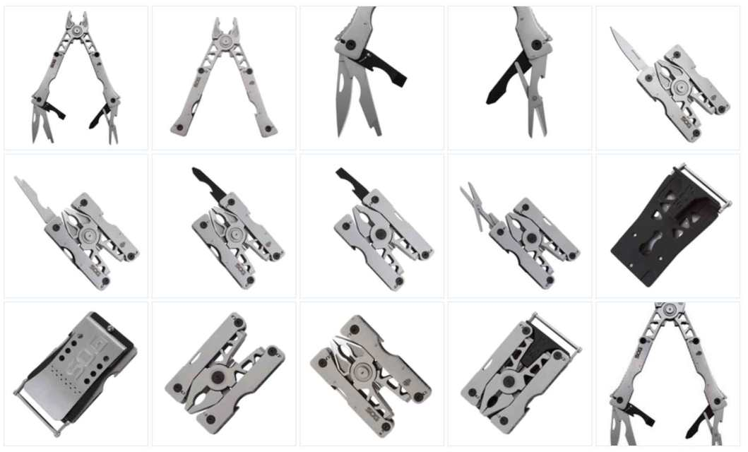 SOG Sync 1: Specialty Knife and Multi-Tool –  Clip or Buckle Carry