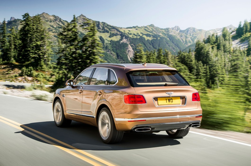 The Bentley Bentayga is the Fastest SUV in the World
