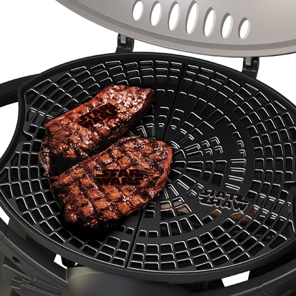The Ultimate Star Wars Gas Grill is the TIE Fighter