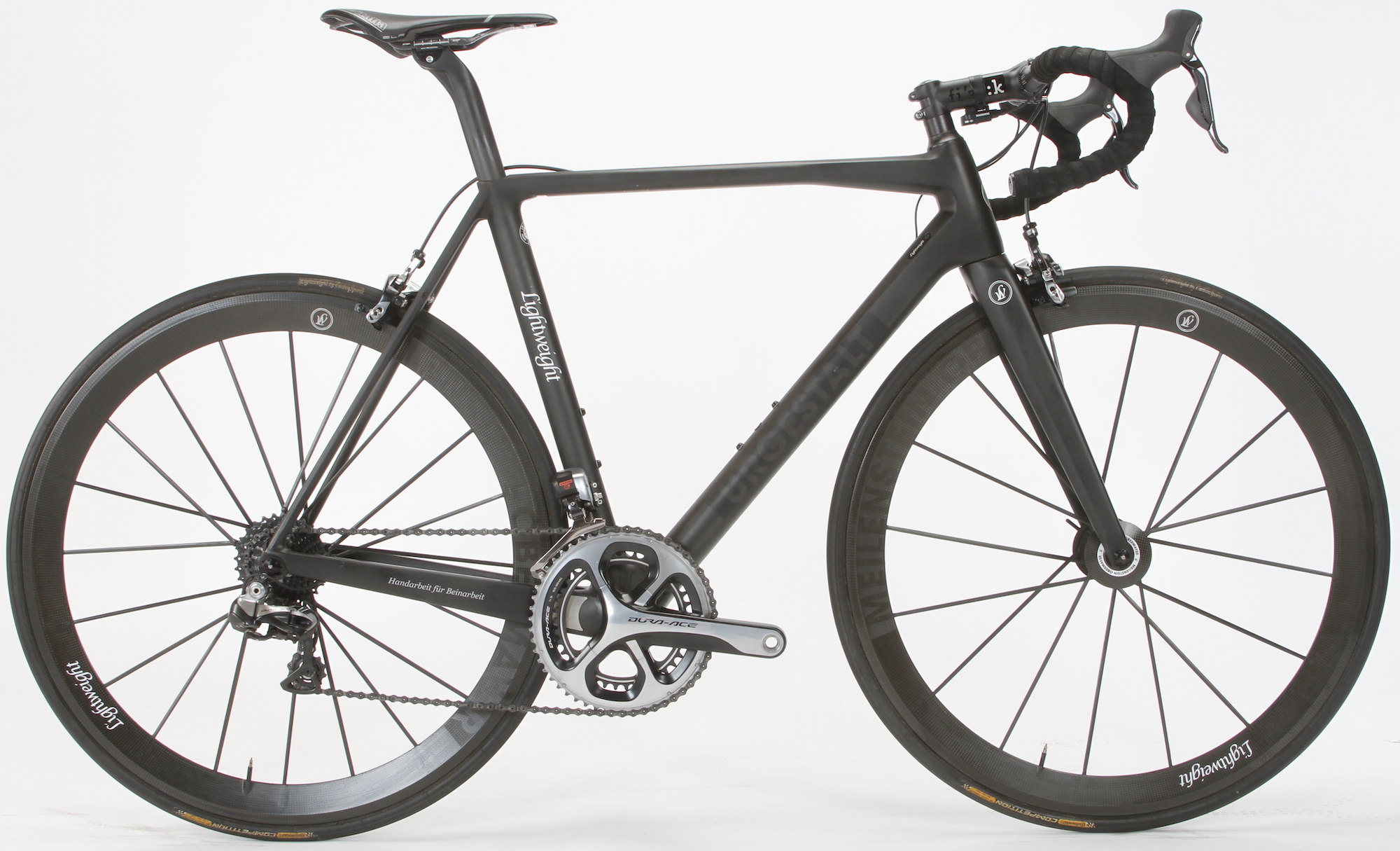 The Lightweight Urgestalt: German Engineered, Carbon Fiber Bike Frame