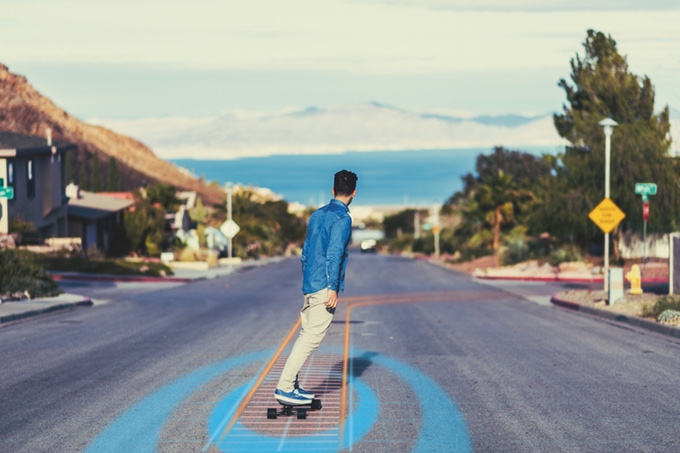 The XTND Board: – the World's First Electric Skateboard