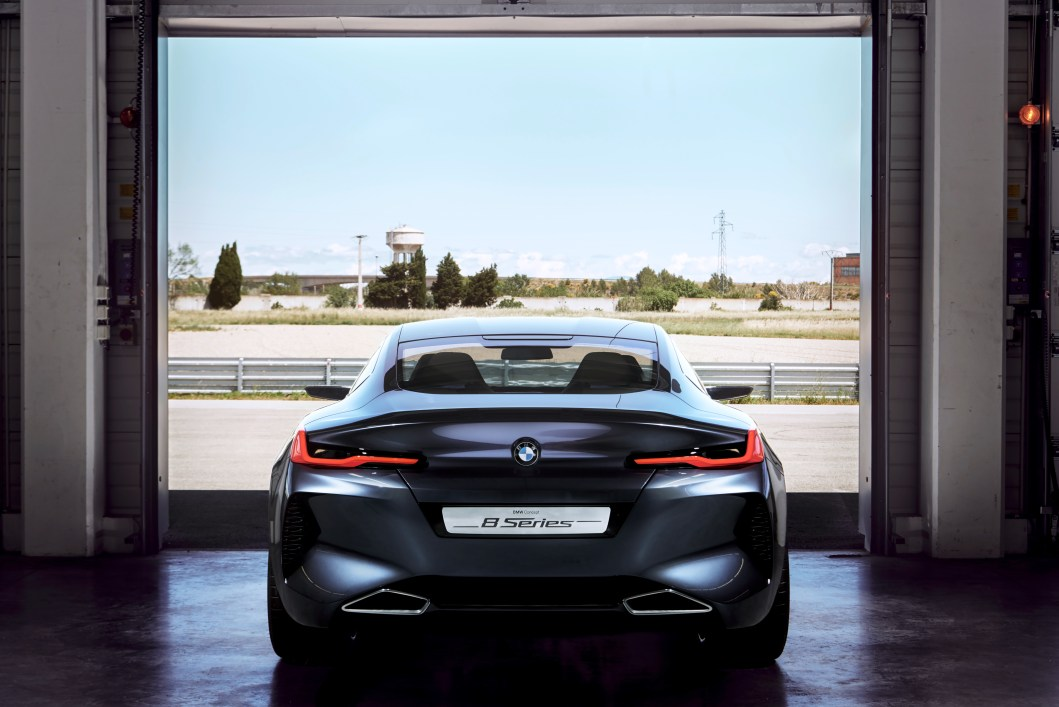 BMW Just Unveiled the New Concept 8-Series