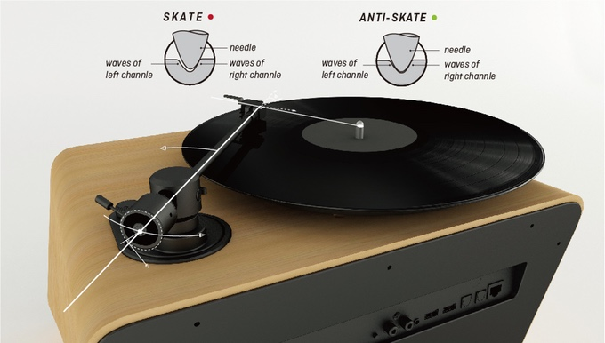 Seed Turntable: An All-in-One Sound Solution with Vintage Looks