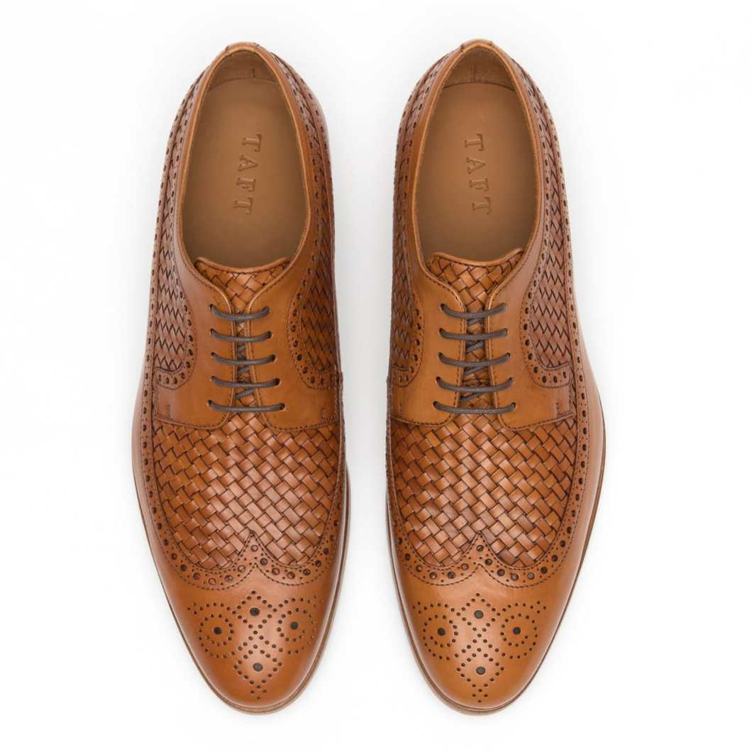 Taft Preston Brogues: Gorgeous Leather Shoes Handmade in Italy
