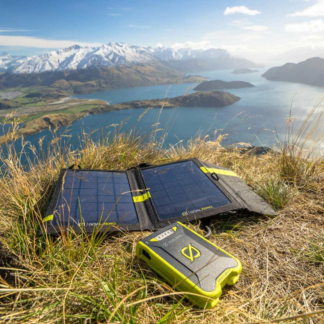 Charge Devices Anywhere with the Venture 30 Solar Recharger