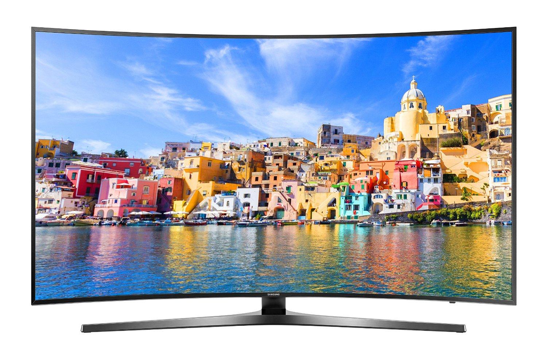 Samsung 4k Curved LED TV Front