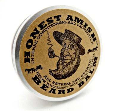 Honest Amish Beard Balm Front