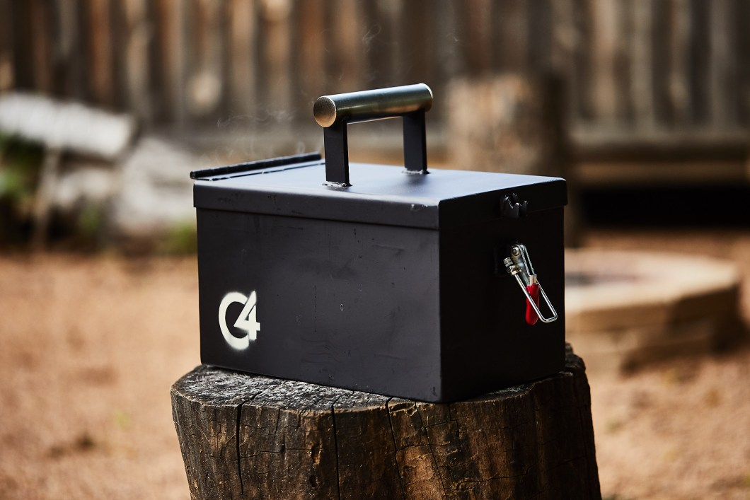 C4 Portable Grill: Cookout Anywhere in Classic Military Style