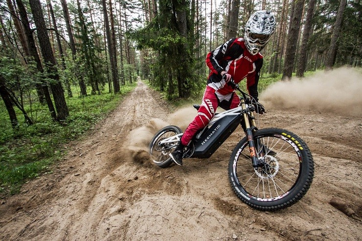 Neematic FR/1 Electric Mountain Bike 5
