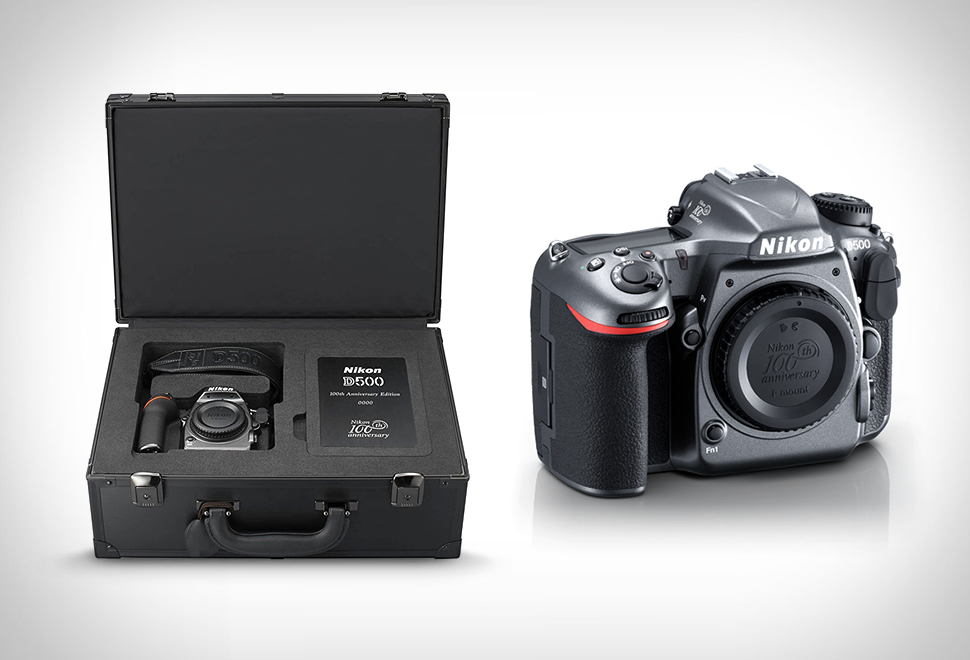 Nikon D500 100th Anniversary Edition Set