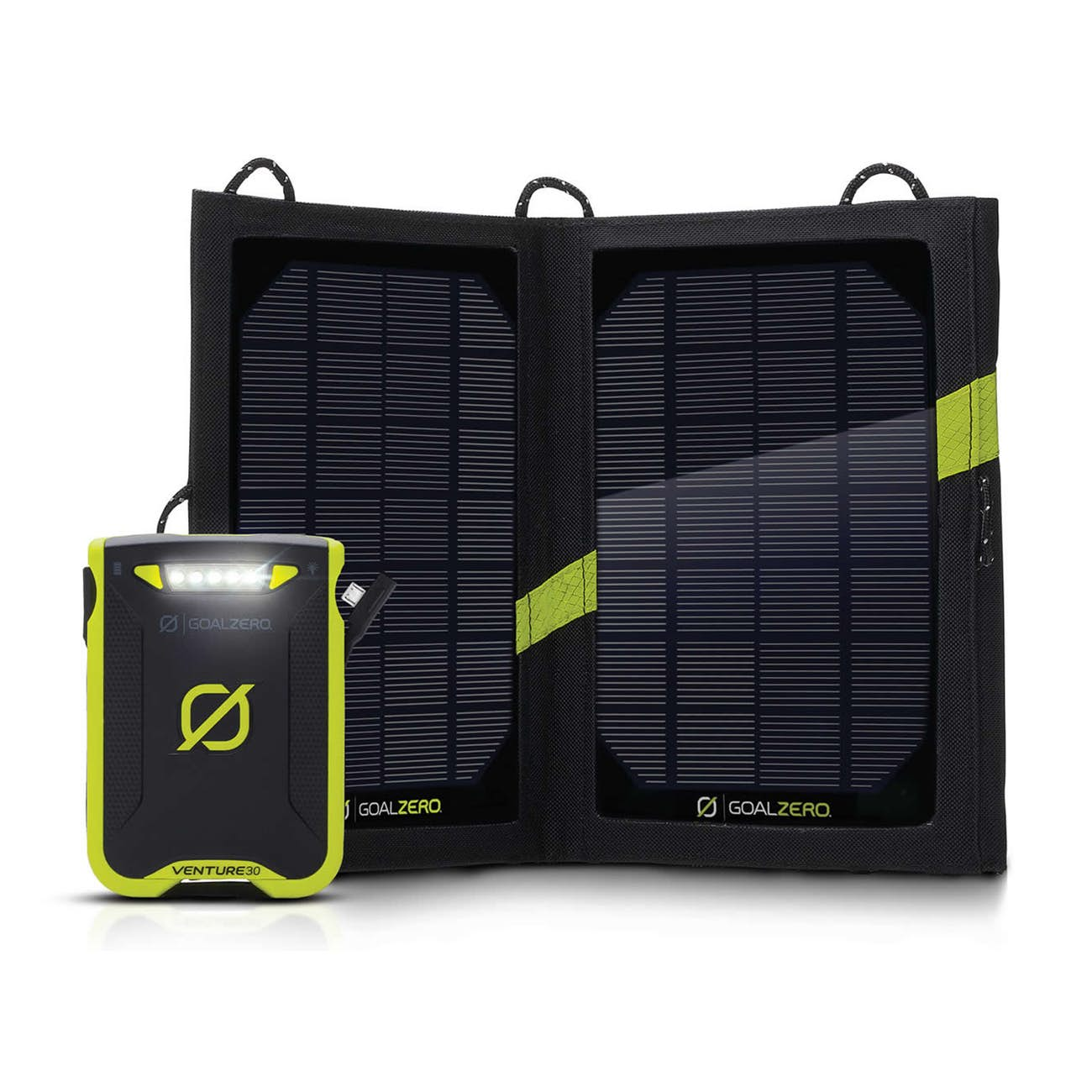 Venture 30 Solar Recharger Front View