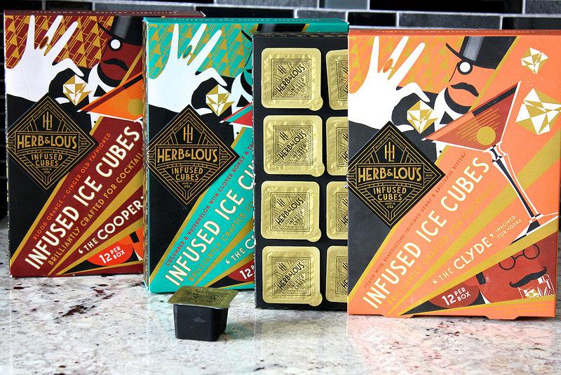 Herb & Lou's Cocktail-Infused Cubes: Freeze, Pop, Drop, Sip