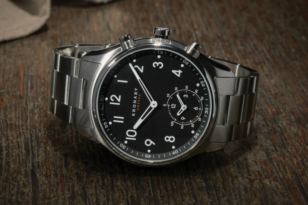 The Kronaby Apex is Half Dress Watch, Half Smartwatch