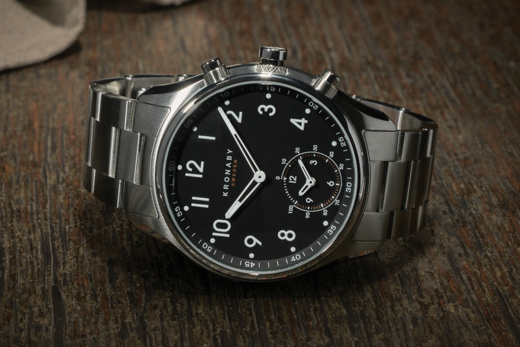 The Kronaby Apex is Half Dress Watch, Half Smartwatch