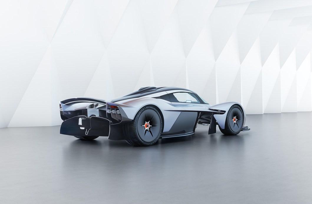 Aston Martin Valkyrie: The World's First Hybrid Hypercar?