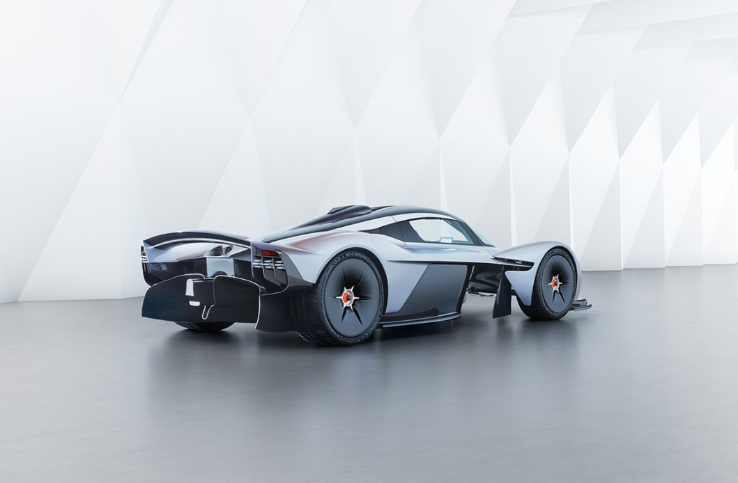 Aston Martin Valkyrie: The World's First Hybrid Hypercar?
