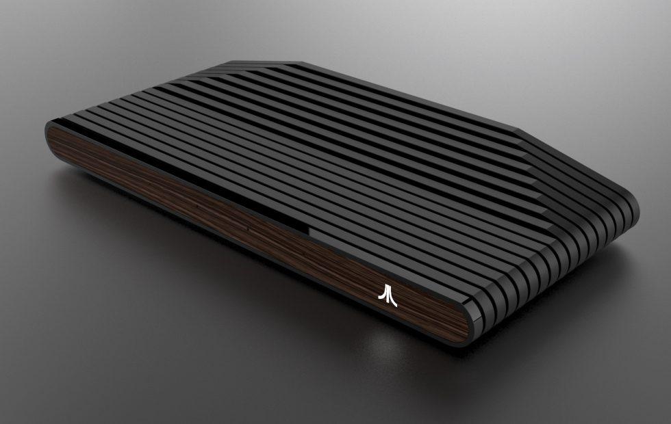 ataribox wood front