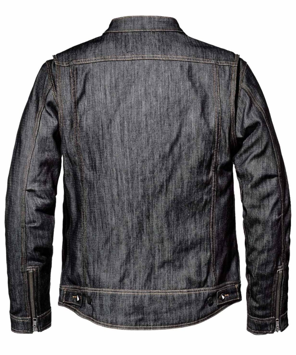 Saint Unbreakable Technical Denim Jacket: Stronger Than Regular Denim