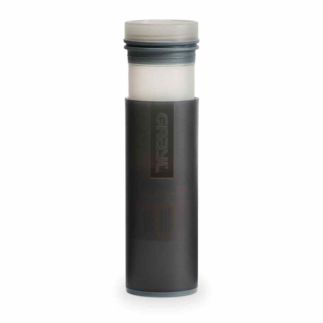 Grayl Bottle: One-Piece Water Purification in 15 Seconds