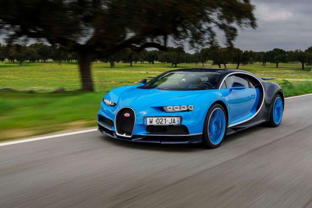 Bugatti Unveils Chiron, The Successor To The Bugatti Veyron