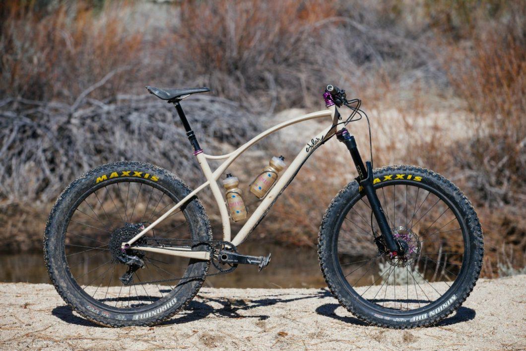 Sklar Makes Beautiful, Retro Styled Mountain Bikes