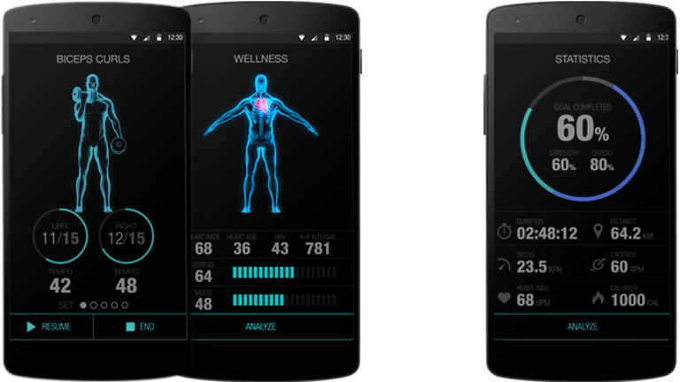 DynaFeed Smart Shirt: Track Your Workouts – With Your Clothing