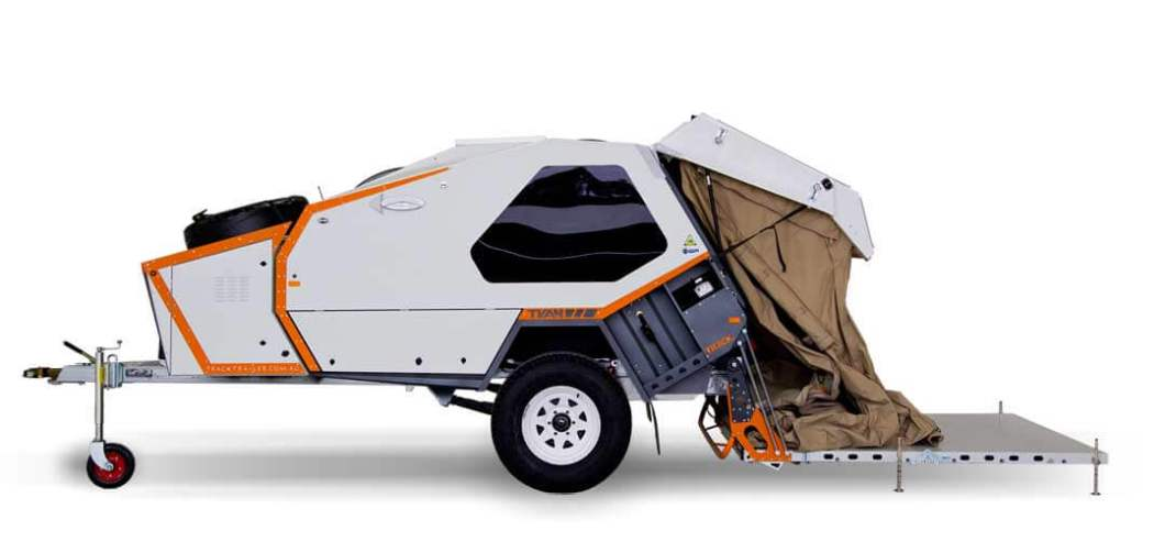 Tvan MK5 Camper Trailer – Best of the Best in Off-the-Grid Living