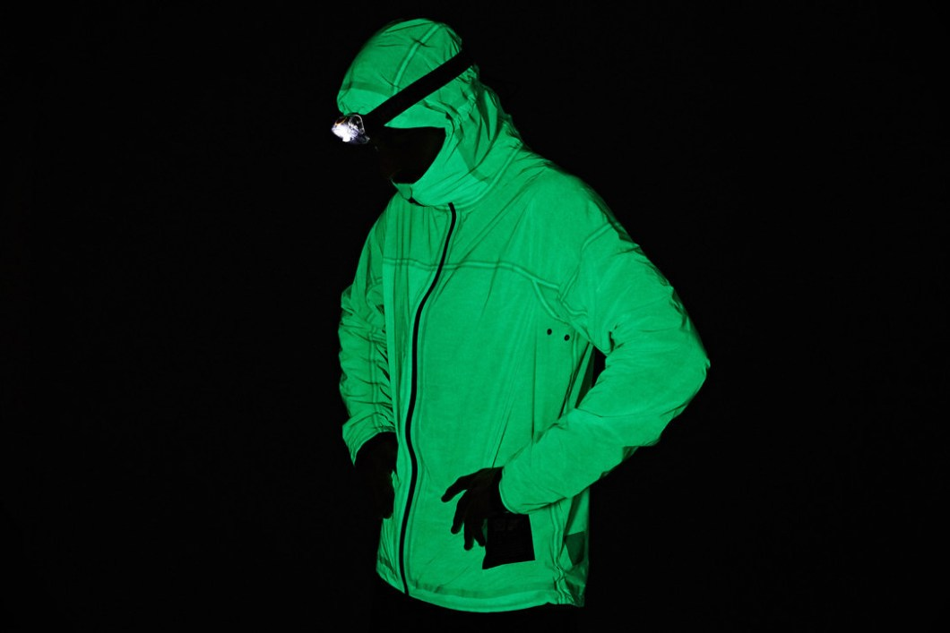 The Vollebak Solar Charged Jacket Actually Glows In The Dark