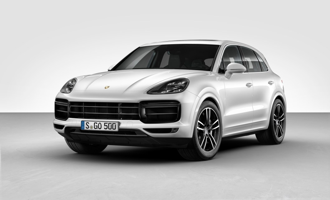 The 2019 Porsche Cayenne Turbo Cranks out 550 HP