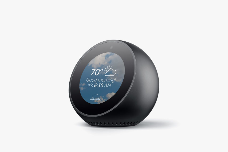 Amazon Echo Spot: Alexa Meets Alarm Clock