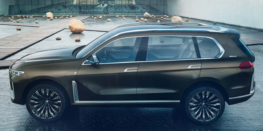 BMW X7 Concept Car is BMW's Largest SUV Ever