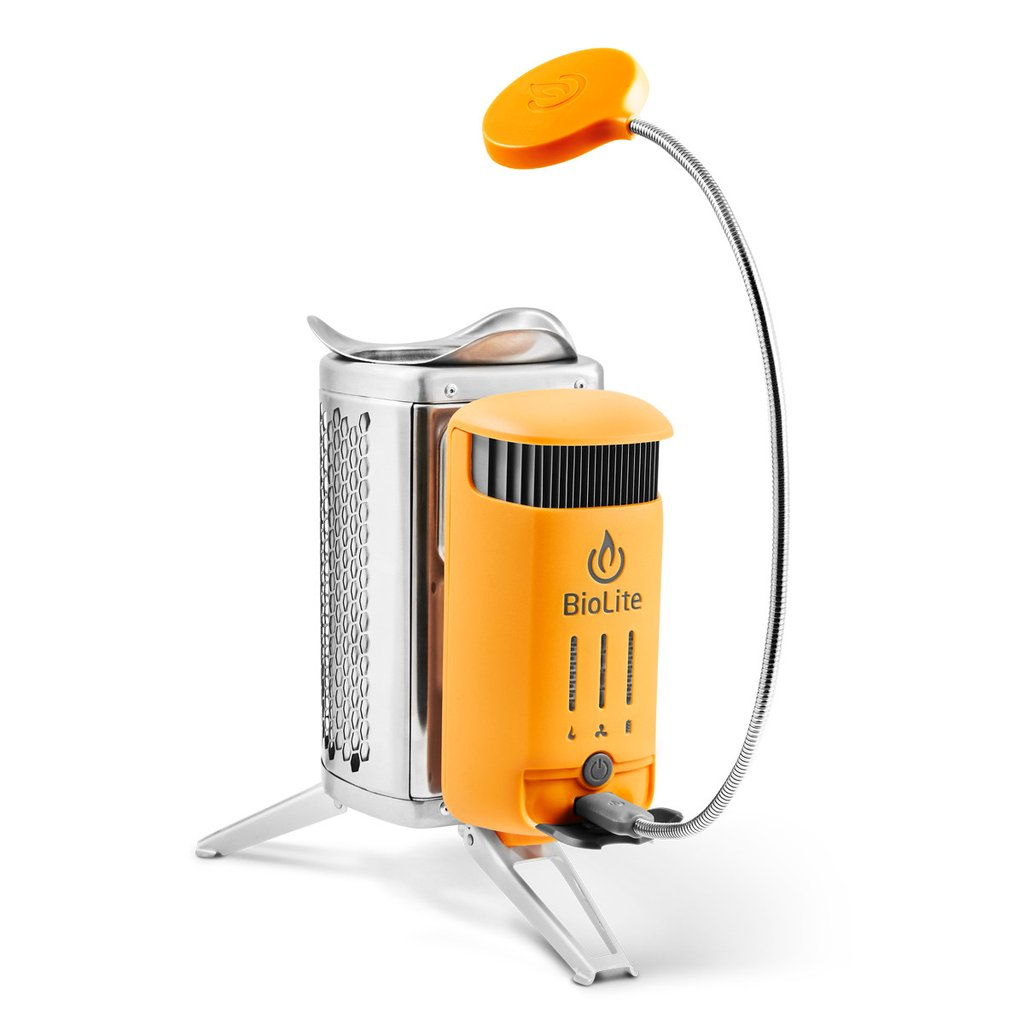 Biolite Campstove 2: A Smokeless Stove That Charges Your Devices