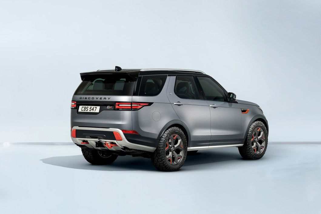 Land Rover Just Revealed the 2018 Discovery SVX