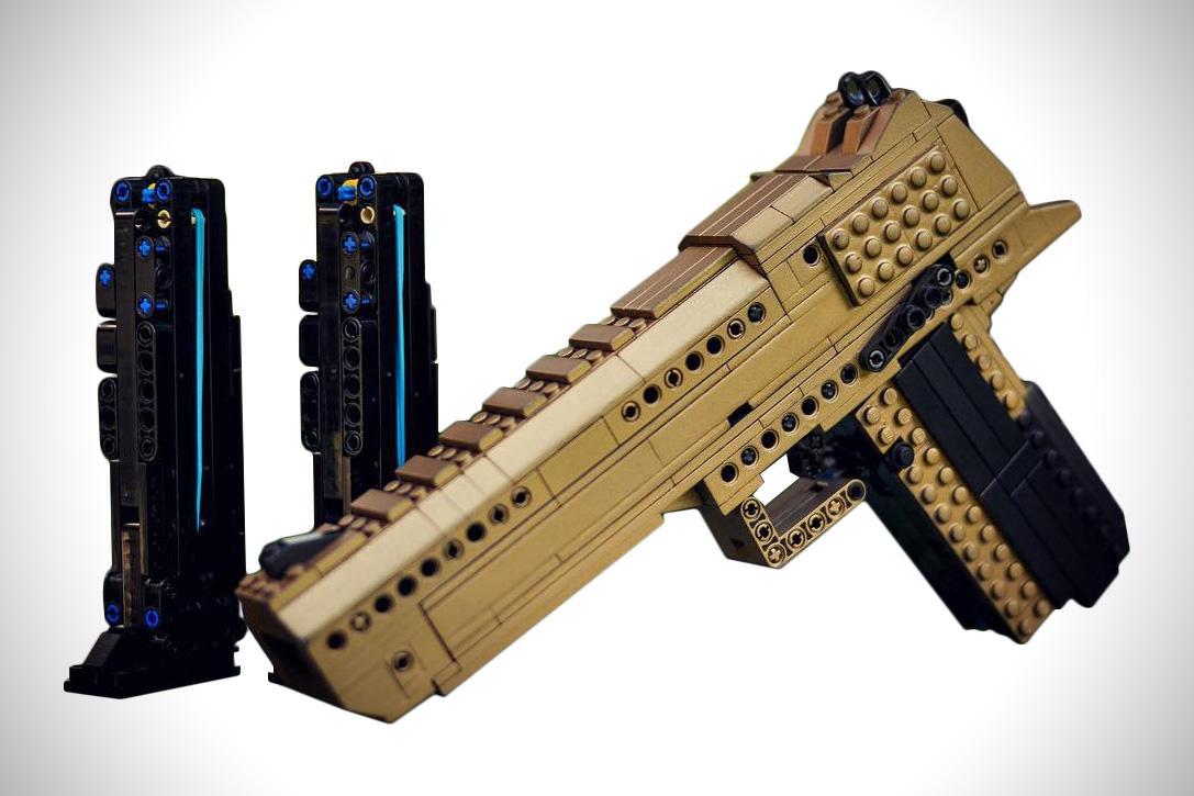 LEGO Desert Eagle Clips