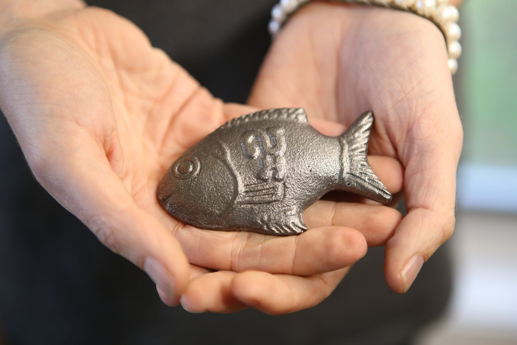 Lucky Iron Fish: Eat a Boiled Fish While Fighting World Anemia