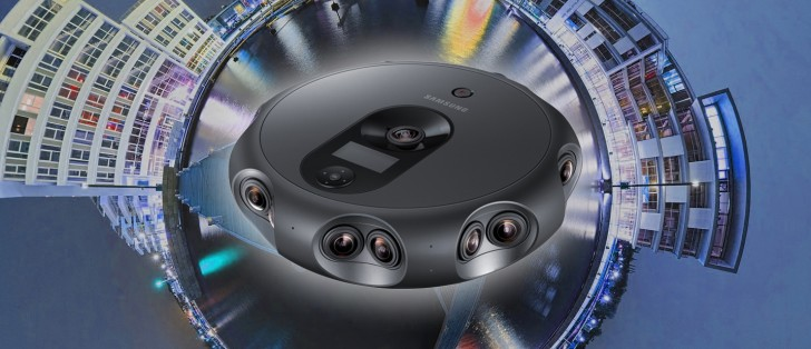 The New Samsung 360 Round VR Camera has 17 Lenses