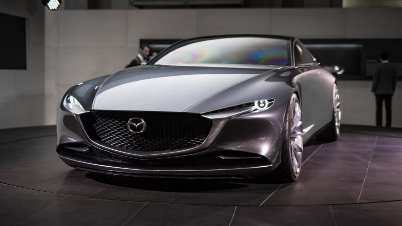 The Mazda Vision Coupe Concept Car is Gorgeously Mazda