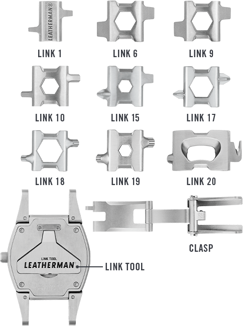 The Leatherman Tread Watch Is The Most Useful Watch Out There