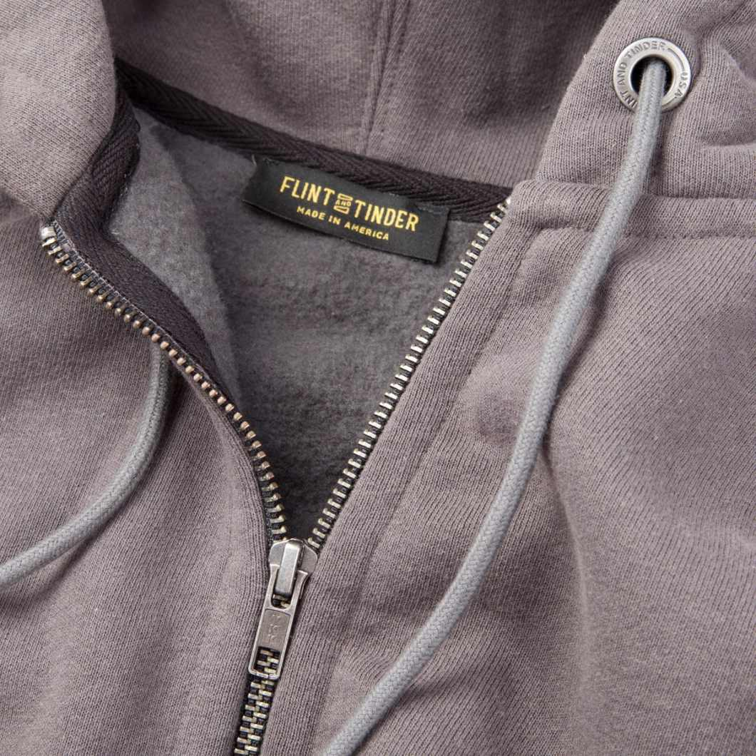 Flint and Tinder 10-Year Hoodie: USA From Seed to Stitch