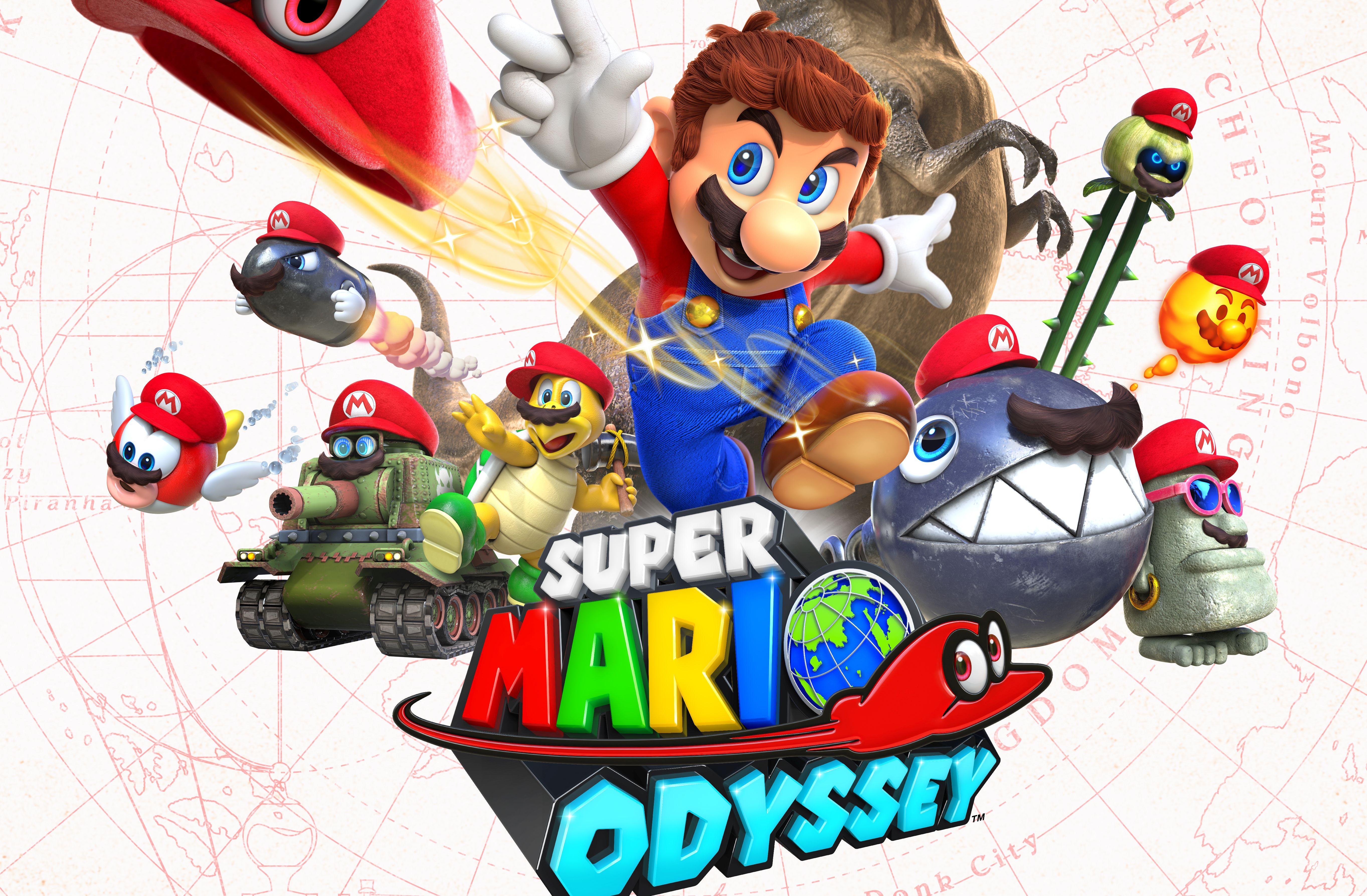 Super Mario Odyssey Screen 1
