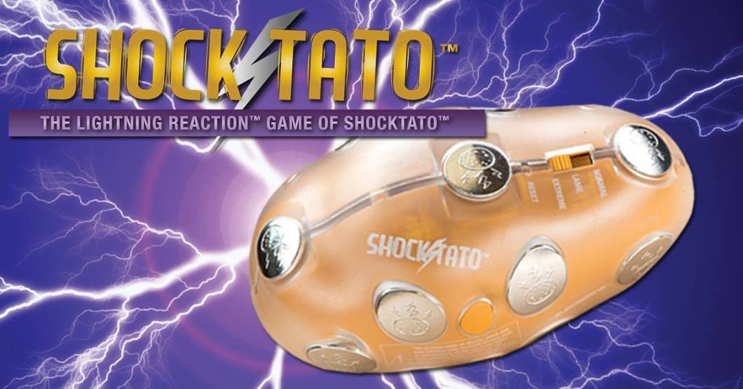 Shocktato Party Game: Not Mr. Potato Head By Any Means