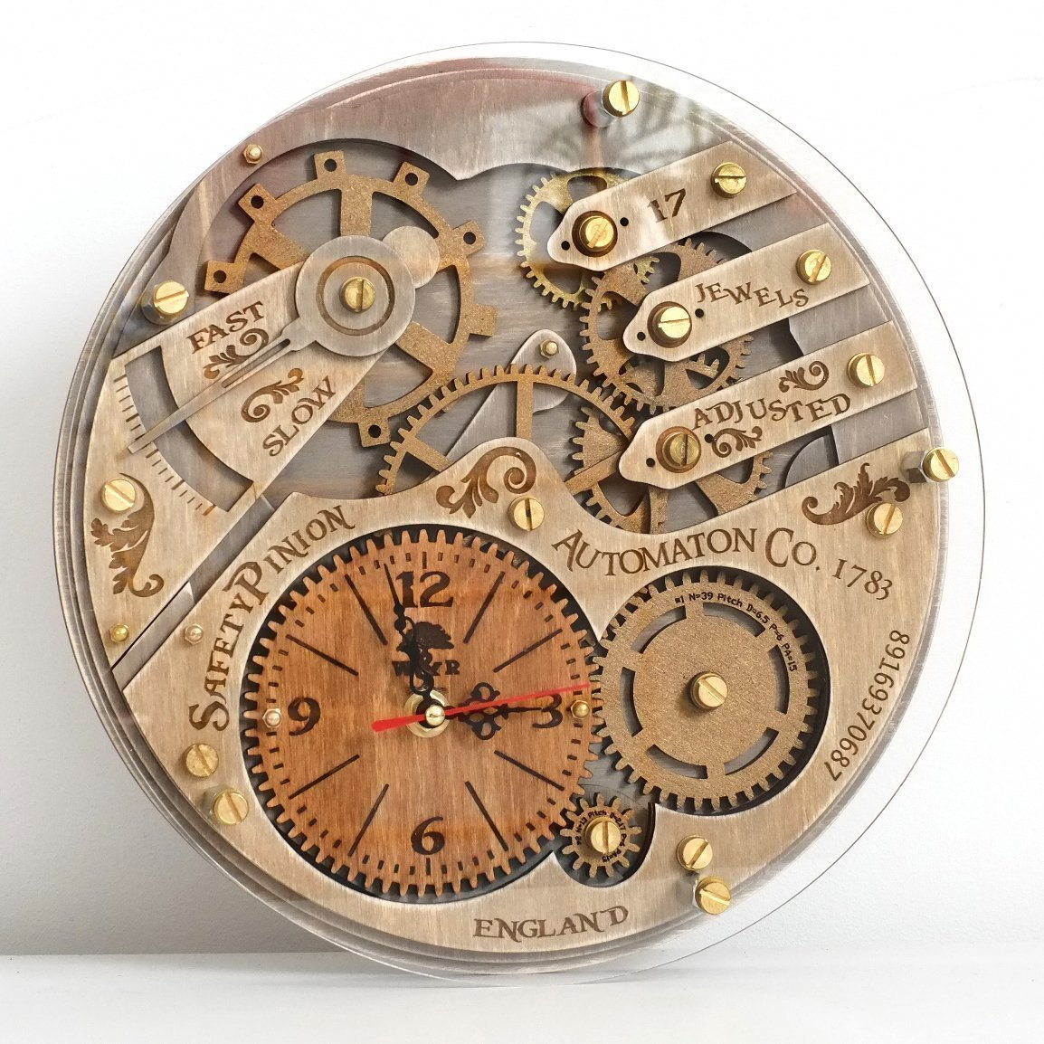 WoodandRoot Automation Clocksu2013Captivating Our Interest In Time