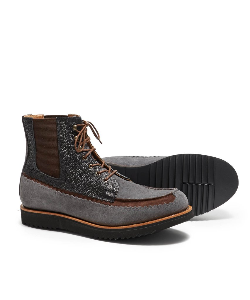 Tessera Multi Suede Boot: Impeccable Style and Utility from Grenson and Tom Snyder