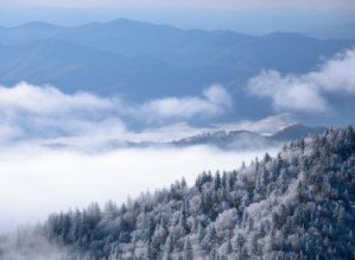 smoky mountains winter hiking