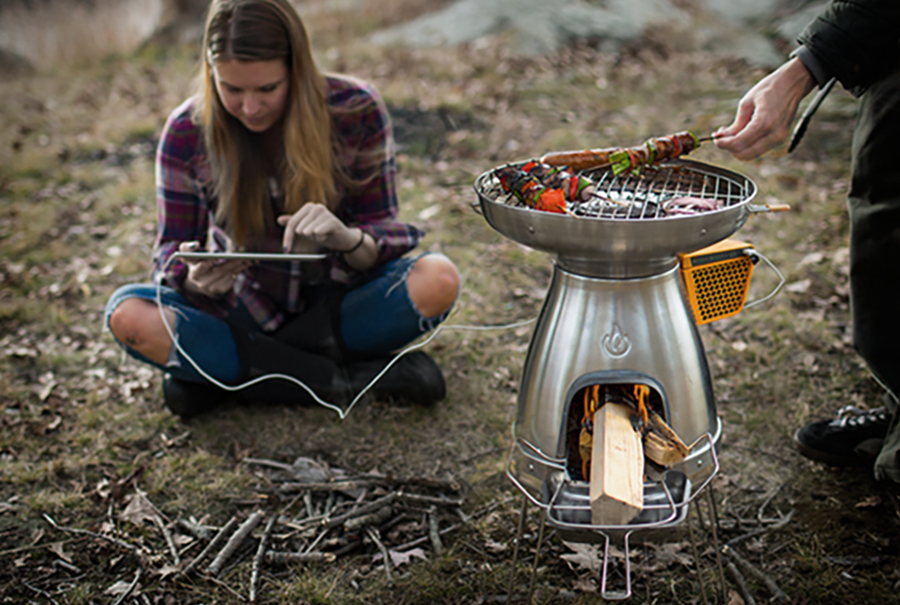 Outdoor Gifts: Biolite BaseCamp: Cook, Charge, Camp