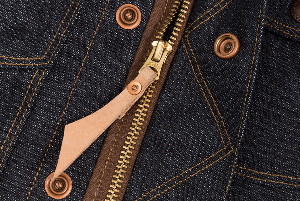 Freenote Cloth CD2: A Japanese Selvedge Denim Jacket