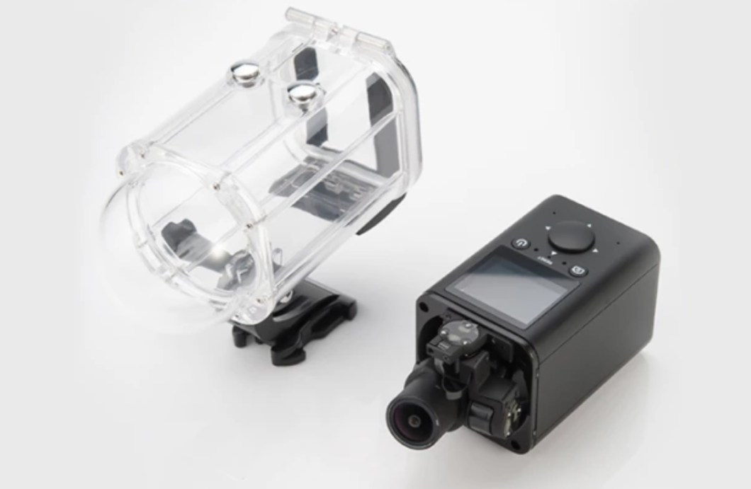 The GimbalCam Self-Stabilizing Camera